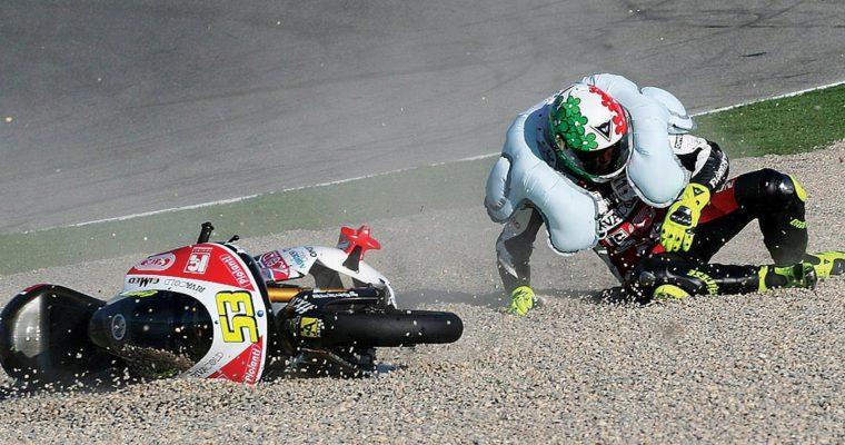 Motociclismo: Gobbe, canguri e airbag