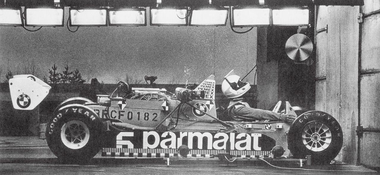 I crash test in Formula 1