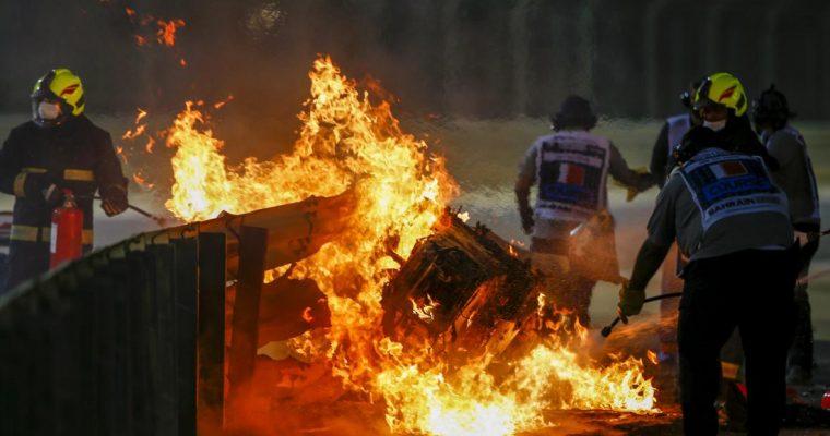 Incidente di Romain Grosjean: l'incoscienza prima del miracolo